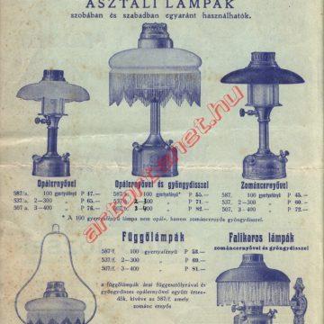 Maxim lámpák