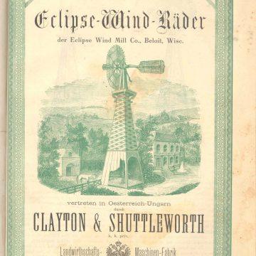 Clayton & Shuttleworth szélkerék