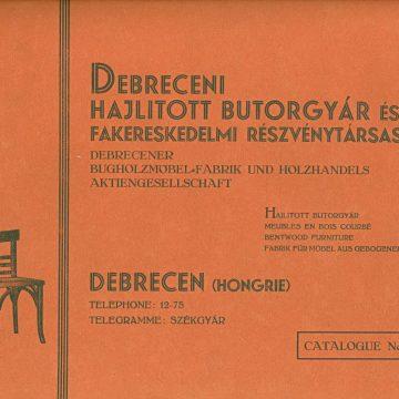 Debreceni Hajlított Bútorgyár No38