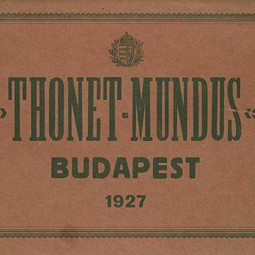 Thonet-Mundus hajlított bútorok
