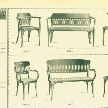 Kohn Jakab hajlított bútorok