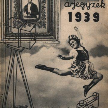 HAFA árjegyzék 1939 (82.)