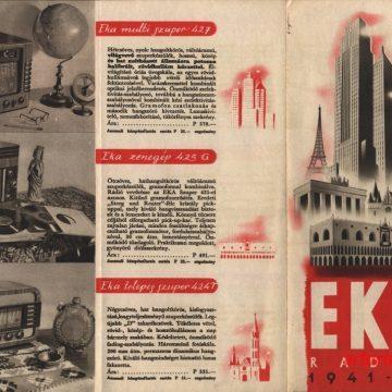 EKA rádió árjegyzék