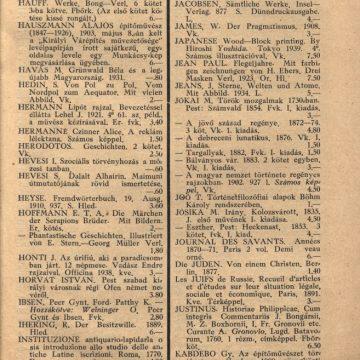 Bendetz és társa könyvárjegyzék '39