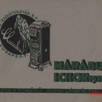 Marabu Ichor folytonégő kályhák