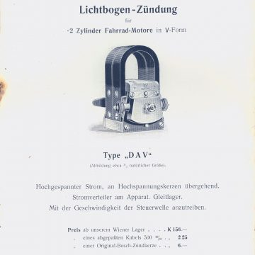Dénes  & Friedmann Bosch gyújtómágnes