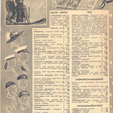 Cserkész téli felszerelés