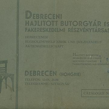 Debreceni Hajlított Bútorgyár No40
