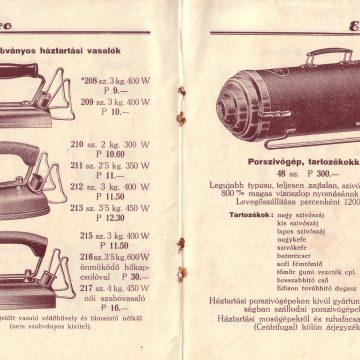 EKA főző- fűtő- melegítő készülékek