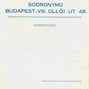 Haidekker Sándor drótfonat sodronymű