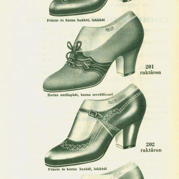 Murin György cipő