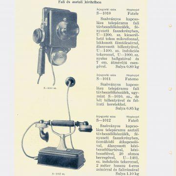 Standard telefon