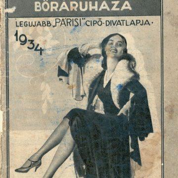 Szabó Mihály bőráruháza '34