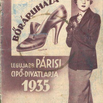 Szabó Mihály bőráruháza '35