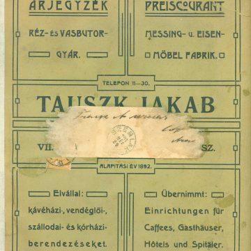 Tauszk Jakab réz- és vasbútor
