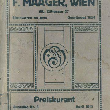 F. Maager háztartási eszközök