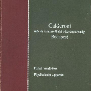 Calderoni fizikaszertár