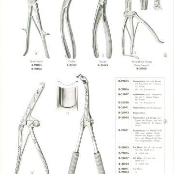 Szívsebészeti eszközök Aesculap