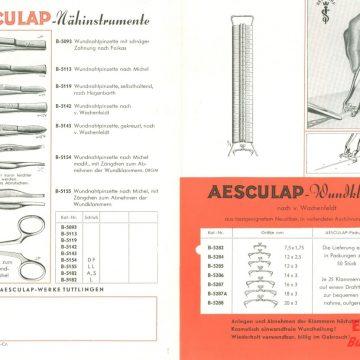 Tűk és sebkapcsok Aesculap