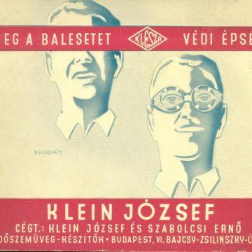 Klein József védőszemüvegek