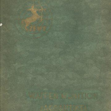 ZEWE Wilhelm Zultner & Co fegyver árjegyzék 1889-1929