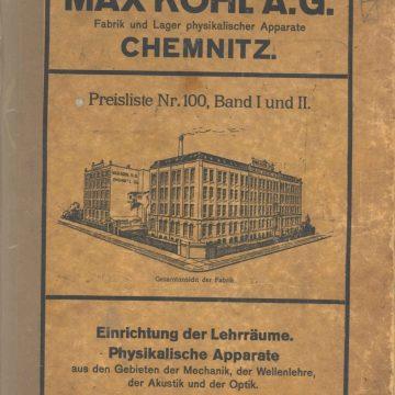 Max Kohl tanszerek I. kötet