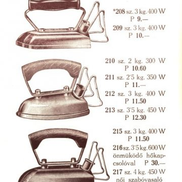 Villamos főző- és fűtőkészülékek