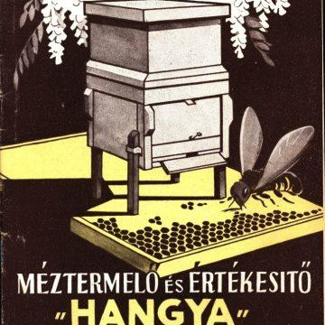 Méztermelő Hangya Szövetkezet árjegyzék 1948