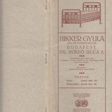 Hikker Gyula Réz- és Vasbútor
