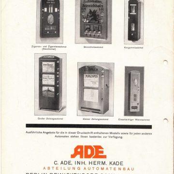 ADE áruautomaták