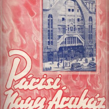 Párisi Nagy Áruház 1931 Karácsony