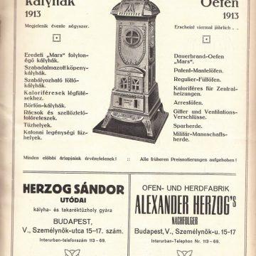 Herzog kályhák és tűzhelyek