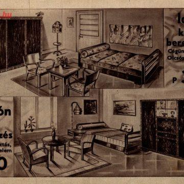Eichel bútor Boldog otthon 1937